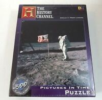 History Channel Apollo 11 Moon Landing Puzzle Pictures In Time 18 X 18