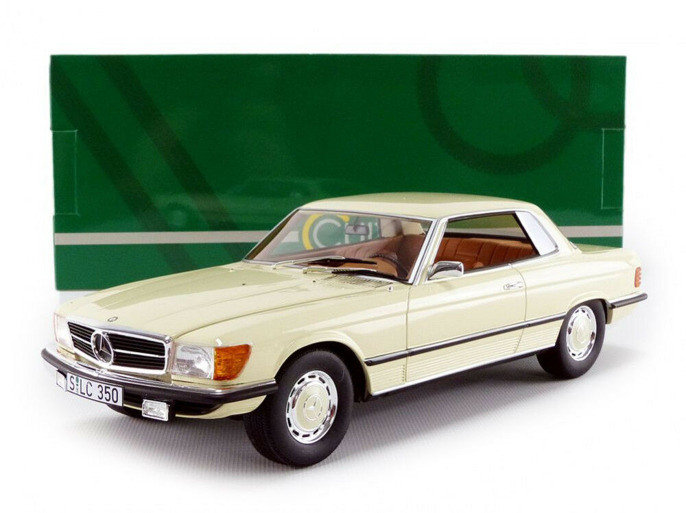 Cult Models 1973 Mercedes Benz 350 SLC C107 Blanc 1 18 Echelle Nouvelle Version