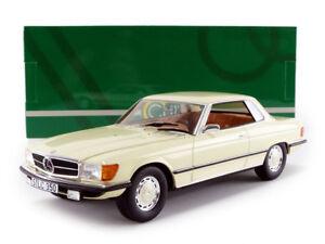 Cult Models 1973 Mercedes Benz 350 Slc C107 Blanc 1/18 Echelle Nouvelle Version