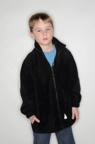 Boys Result Kids//Youths Polartherm Fleece Jacket Top Mens Result Polartherm®