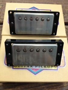 Seymour-Duncan-Antiquity-Humbucker-Pickup-Set-Aged-Nickel-1950-039-s-P-A-F-Pickups