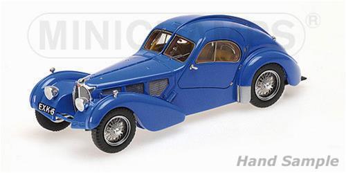 Bugatti Bugatti Bugatti Type 57Sc Atlantic 1938 blu Minichamps 1:43 437110325 a54da6
