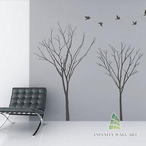 Wall-Stickers-Tree-Flower-Kids-Art-Murals-Decals-Butterfly-Home-Vinyl-Decor-P534