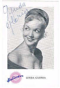 Lynda-Gloria-original-signierte-Autogrammkarte-Roter-Mohn-hand-signed
