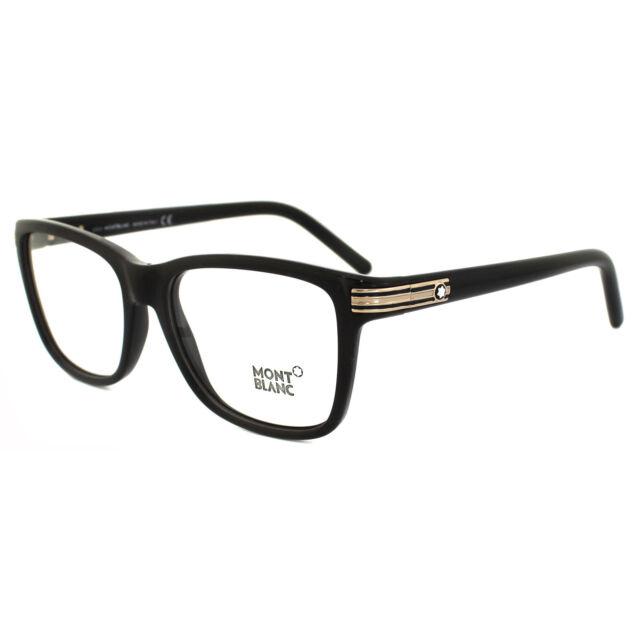02460d86b8f0 Montblanc Eyeglasses Mb0477 005 Black 55mm for sale online