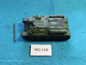Wargames-20mm-WWII-Russian-SU85-Painted-Metal-WG116