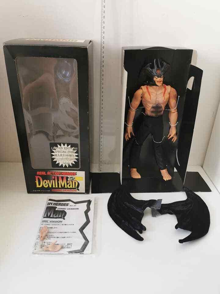 Deviluomo Il Gree Uomo Diavolo azione cifras  Medicom 1997 Vintage giocattolo  miglior prezzo migliore