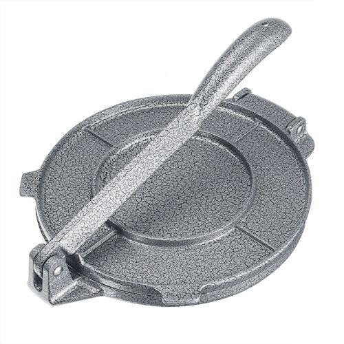 8/'/' Tortilla Press Maker Aluminum Foldable Kitchen Flour Corn Baking Tool Cooker
