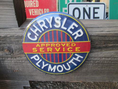 NEW MOPAR CHRYSLER PLYMOUTH APPROVED SERVICE METAL DISPLAY ROAD RUNNER CUDA