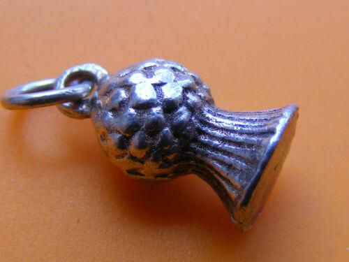 J vintage plata esterlina encanto Bell 18 Araña Pixie Cochecito Iglesia Querubín llaves
