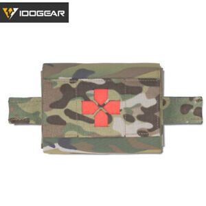IDOGEAR Micro Med kit Medical Pouch Tactical Molle Pouch Hunting First Aid Camo