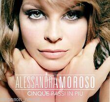 ALESSANDRA AMOROSO: Cinque Passi In Più - box 2 CD Digipack