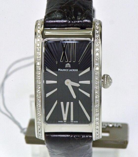 Maurice Lacroix Damenuhr Fiaba Edelstahl mit Diamanten Neu Armbanduhr Nr.1588