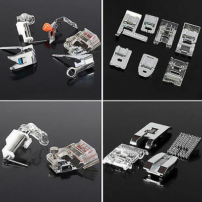 1set 32pcs Presser Foot Feet Domestic Sewing Machine Part Accessorie For Brother