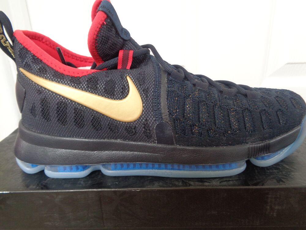 Nike KD 9 différence de température logarithmique Baskets Homme Baskets Chaussures 843396 470 UK 9 EU 44 US 10 NEUF + boîte-