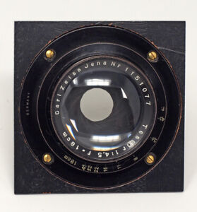 Carl-Zeiss-Jena-Series-Tessar-180mm-F4-5-Lens-Graflex-A-Board-Sunken-Mount