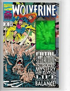 HOLO FATAL  ATTRACTIONS 1993 MARVEL COMICS: EXCALIBUR NO.71 IN  NM+