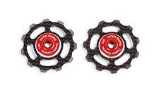 Carbon Fiber Jockey Wheels with Ceramic Bearings 6.5g by ACER Racing