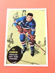 Guy-Gendron-1961-62-Topps-57-Vintage-Hockey-Card