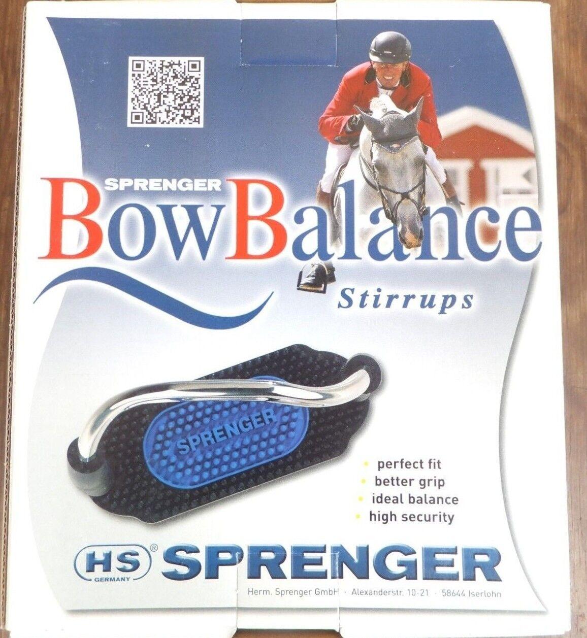 Nueva  sprenger Bow balance sicherheitssteigbügel 12 cm