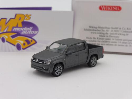 "Wiking 0311 48 Volkswagen Amarok GP Comfortline in /"" graumetallic /"" 1:87 Neu"