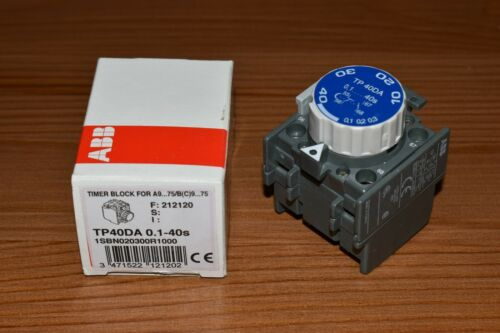 ABB TP40DA 0.1-40s time block for A9...75//B 9...75 C