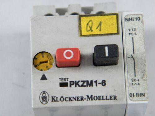 STARTER KLOCKNER-MOELLER ~ PKZM 1-6 MOTOR ~ PROTECTIVE SWITCH