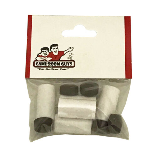 Package of 5 Game Room Guys 13mm Ferrules and Le Professionnel Tips