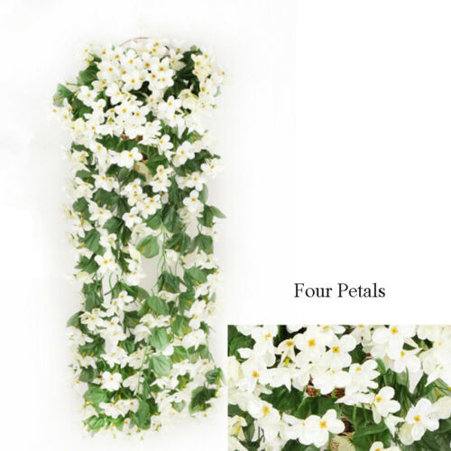 Artifical Fake Flowers Ivy Vine Hanging Garland Plant Wedding Home Party Decor D