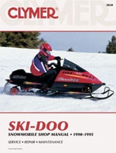 Clymer S830 Service & Repair Manual for 1990-95 Ski-Doo ...