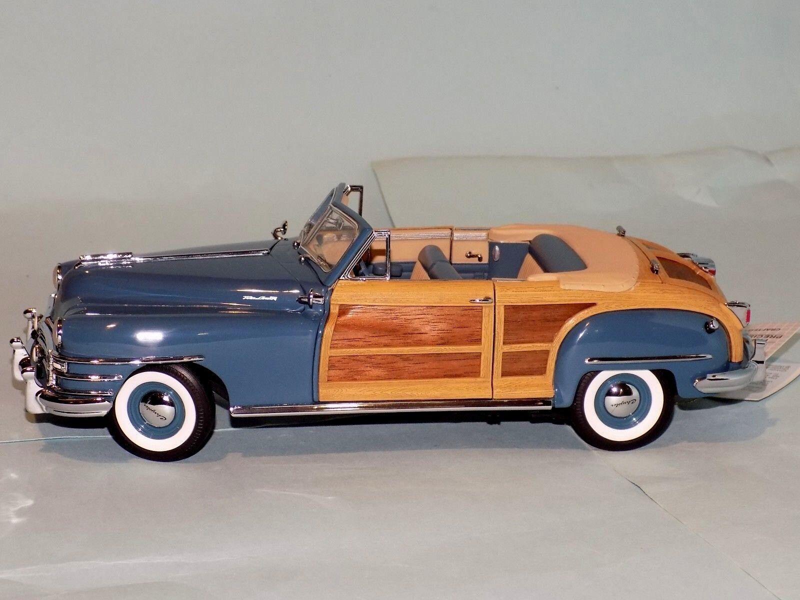 Chrysler town and country fressie cabrio 1948 von franklin mint b11d165 24