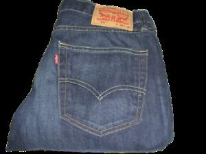 Mens Levi's 511 Slim Fit Dark Blue (1931) Denim Jeans W32 L30
