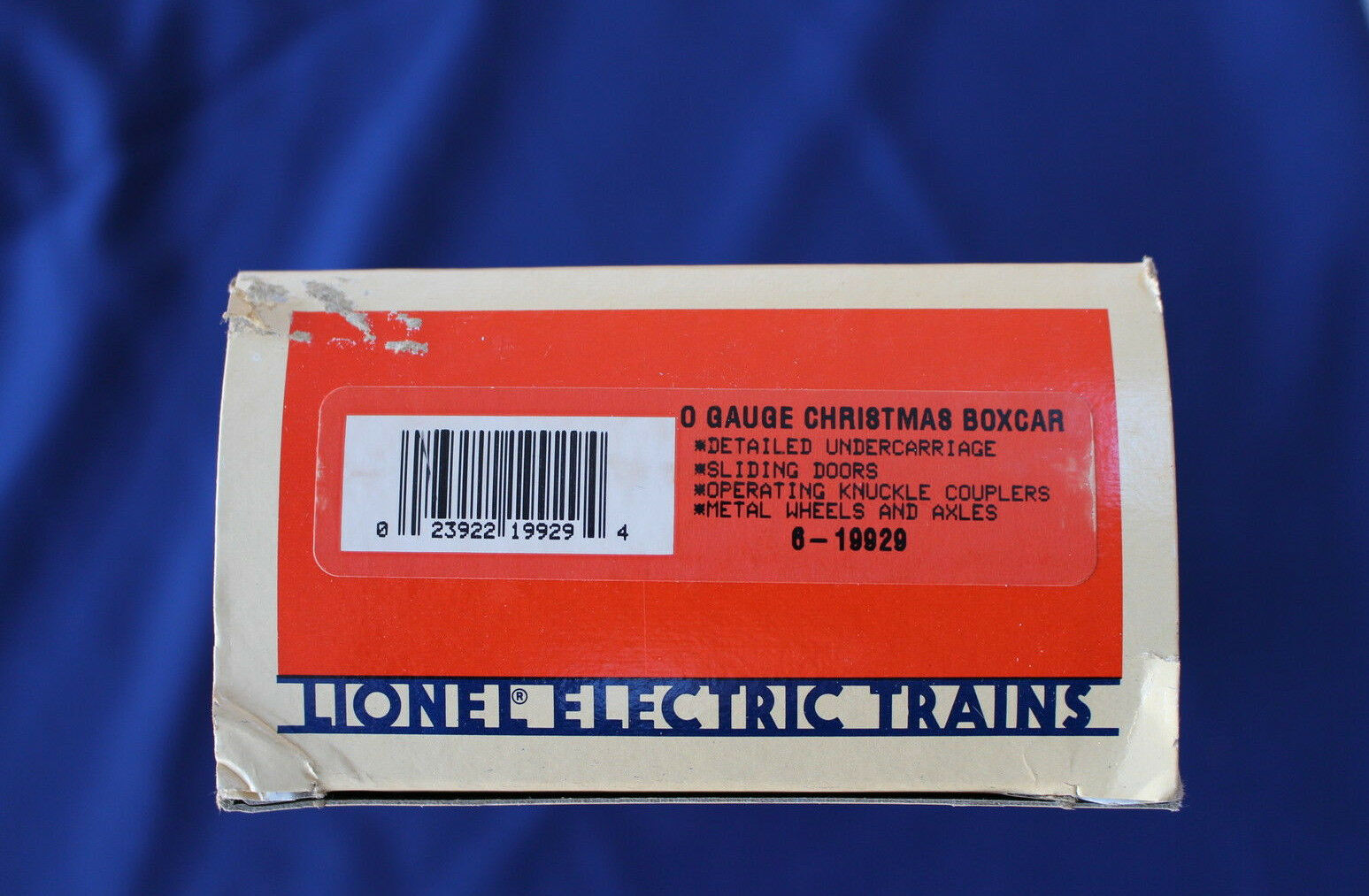 1994 Lionel 6-19929 Christmas Box Car New New New L3131 7b5b81