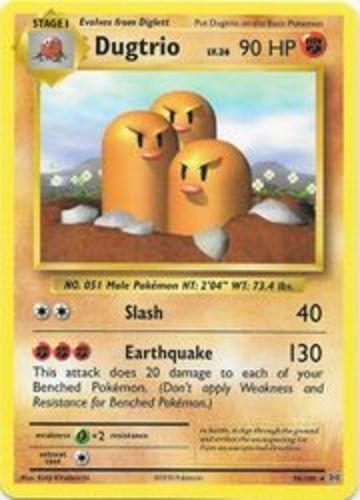 1x Dugtrio Reverse Holo NM-Mint Pokemon XY Evolutions 56//108 Rare