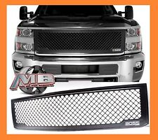 2015 2016 2017 Chevrolet OEM NEW Black MESH 15 16 17 Silverado 2500 HD/3500 HD