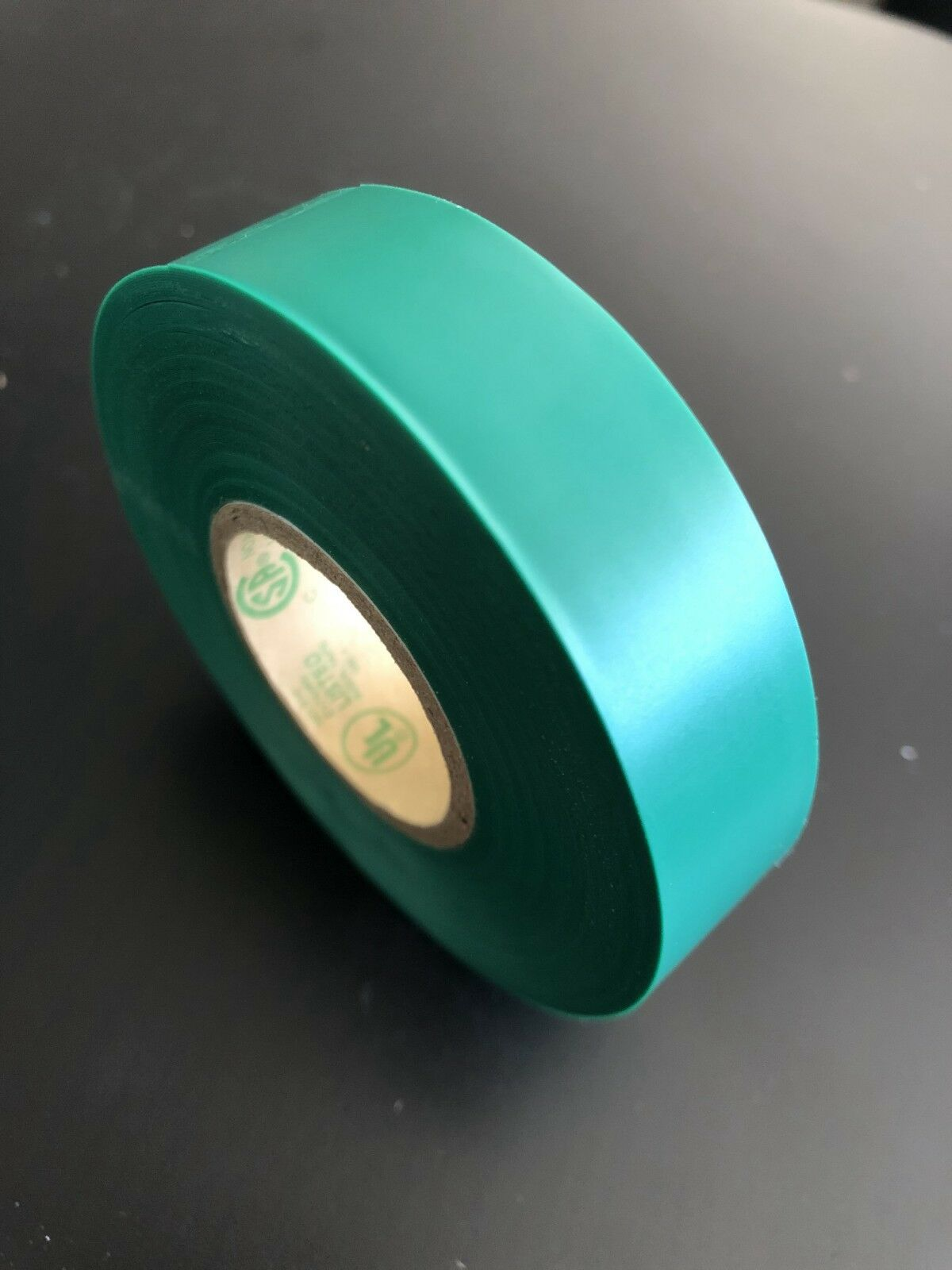 UL-Listed, 1-Roll BYBON Vinyl Electrical Tape,Green,3//4 in x 60 ft