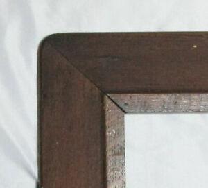 """Big Fits 16"""" X 23"""" Antique Dark Fumed OAK Mission Style Wooden Frame"""