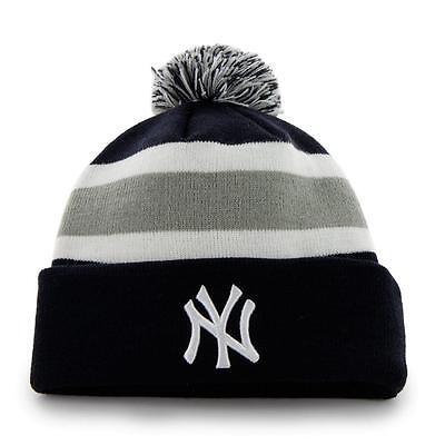 Fanartikel Weitere Ballsportarten Freundlich Mlb Wintermütze Wollmütze New York Yankees Ny Navy Cuffed Knit Hat Pommel