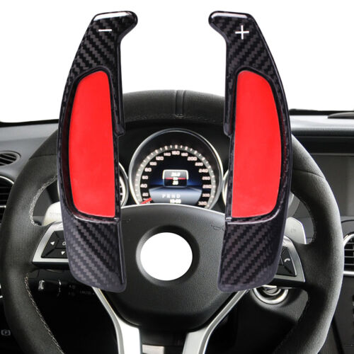 Gear Shift Paddle Steering Wheel Shifter For Benz AMG W212 W204 W176 C117 W218