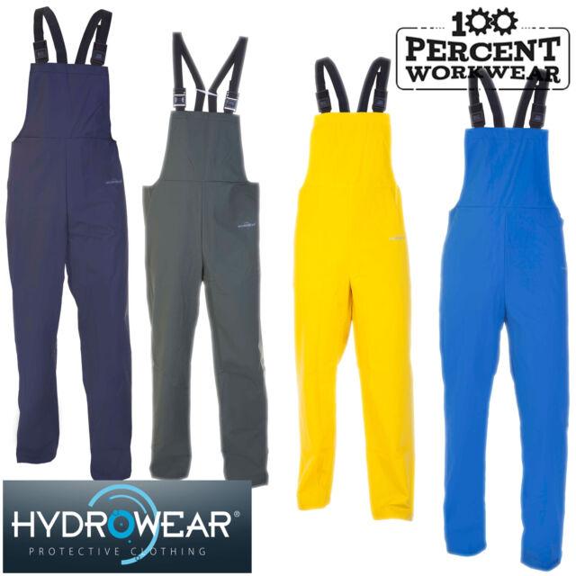 Super B-Dri Waterproof Bib /& Brace Coverall Overall Boilersuit Work Stretch PU
