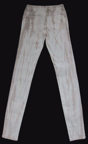 New Womens Beige Skinny NEXT Jeans Size 10 Tall LABEL FAULT