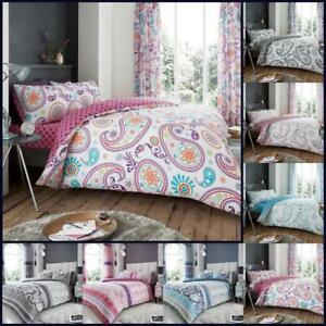 Paisley Duvet Cover Sets King Size Double Single Super With Pillow Case Bedding