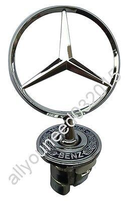 W220 Mercedes emblem badge front W124 W203 W202 W208 W211 W210