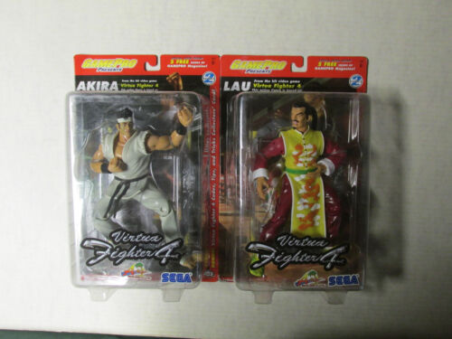 Virtua Fighter 4 GamePro Set de 2 Sega Lau /& Akira Comme neuf en paquet vintage boutique Stock