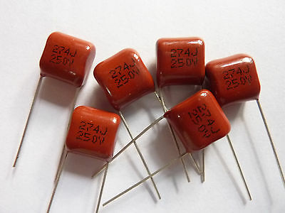 50PCS CBB81 271J 2000V 0.27NF 270pF P15 Metallized Film Capacitor