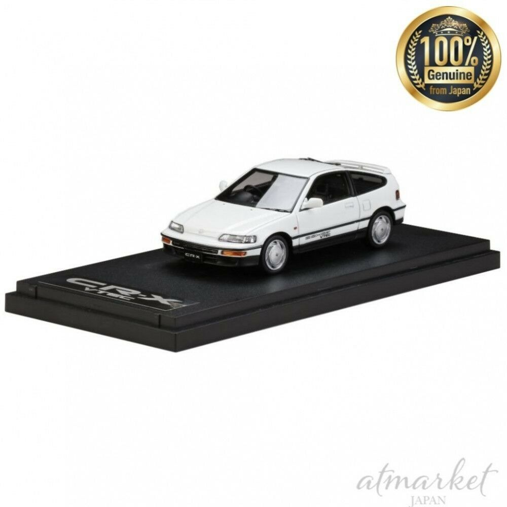 Mark43 mini - auto pm4392w 1   43 honda cr-x sir ef8 1989 weißen fertig hobby japan