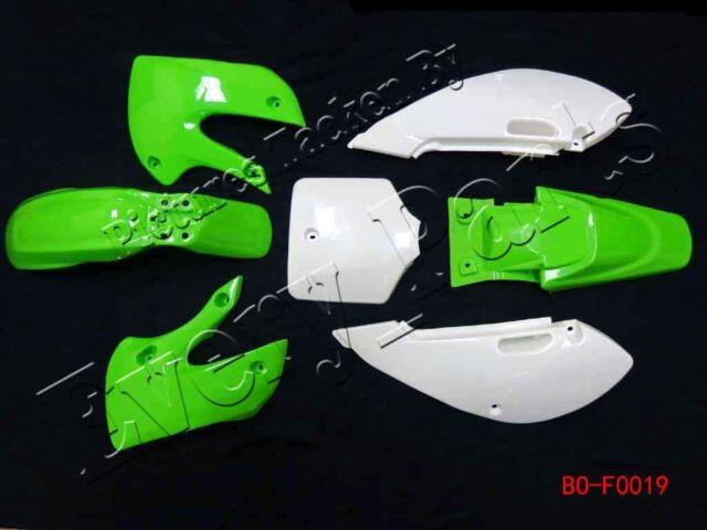 Fairing Kit Plastic Fender for Kawasaki KLX 110 KLX110 DRZ KX 65 Green