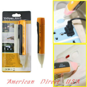 Sensor Tester Pen Ac 90 1000V Non Kontakt Led Elektrische Alarm Spannungsprheiß