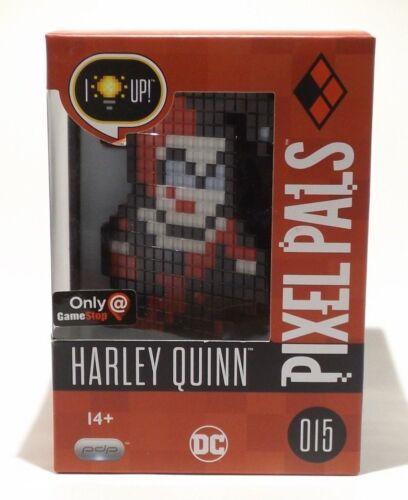PIXEL PALS # 015 HARLEY QUINN DC Comics PDP Light Up Display