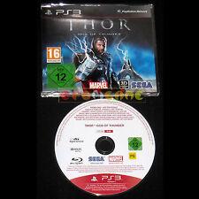 THOR GOD OF THUNDER PS3 Versione Promo Europea gioco completo ••••• USATO